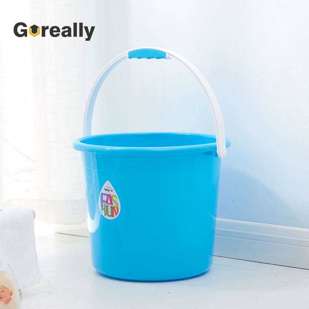 Direct factory small cheap plastic bucket with handles