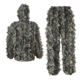Clothing Hunting Hunting Suit Wholesale Traje Leaf Camouflage Clothing Sniper Military Ghillie Suit Material Hunting