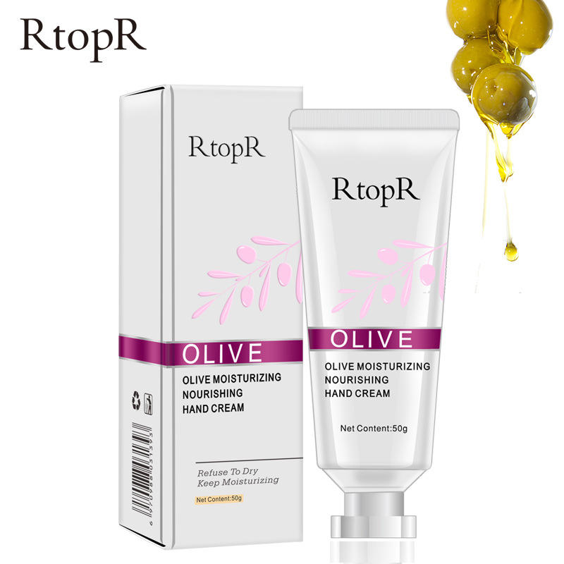 ขายส่ง RtopR ธรรมชาติ Organic Handcream Nourishing Whitening Moisturizing Antibacterial Anti Chapping Olive Hand Cream