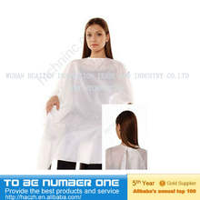 professional salon hairdressing disposable cutting cape