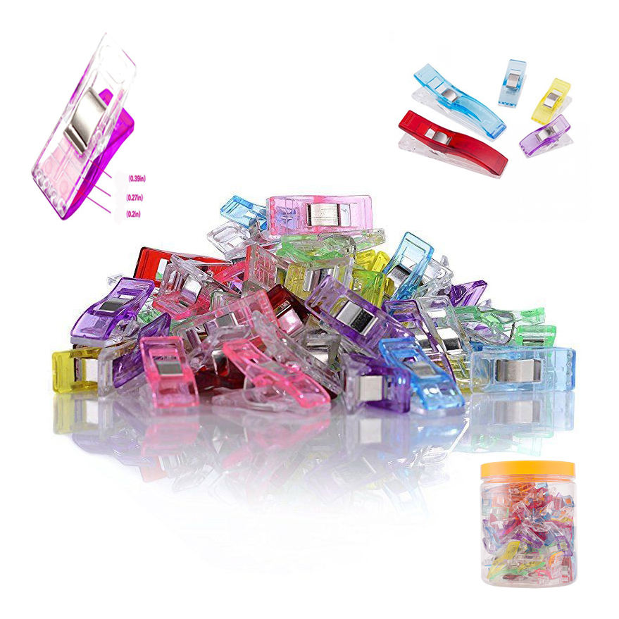 Mini Plastic sewing Clips