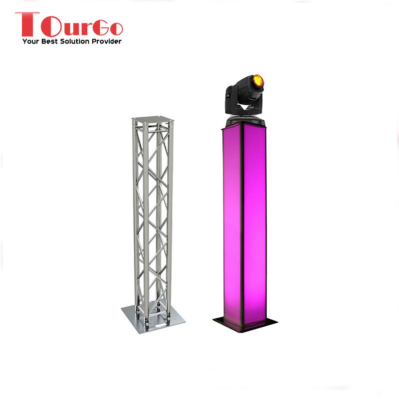 TourGo Traliccio In Alluminio Glow Light Totem-9.02Ft Totem Sistema