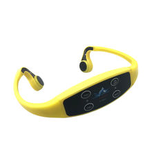 2020 Waterproof Swimming Coaching Communication  FM Transmitter Wireless H907 Bone Conduction Headphones Receiver