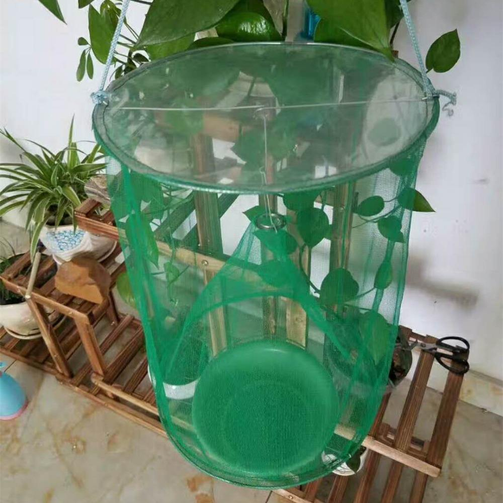 Green Fly Catcher Killer Cage Net Trap Insert Bug Pest Hanging Catcher