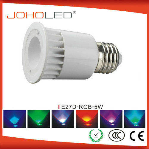 Wifi remote controlled 5w e14 e27 smart wifi dimmable led bulbs