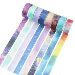Philippines Decorative Color Golden Printed Custom Printing Adhesive Washi Tape