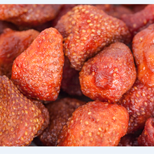 Healthy Dried fruits snack foods strawberry fruit