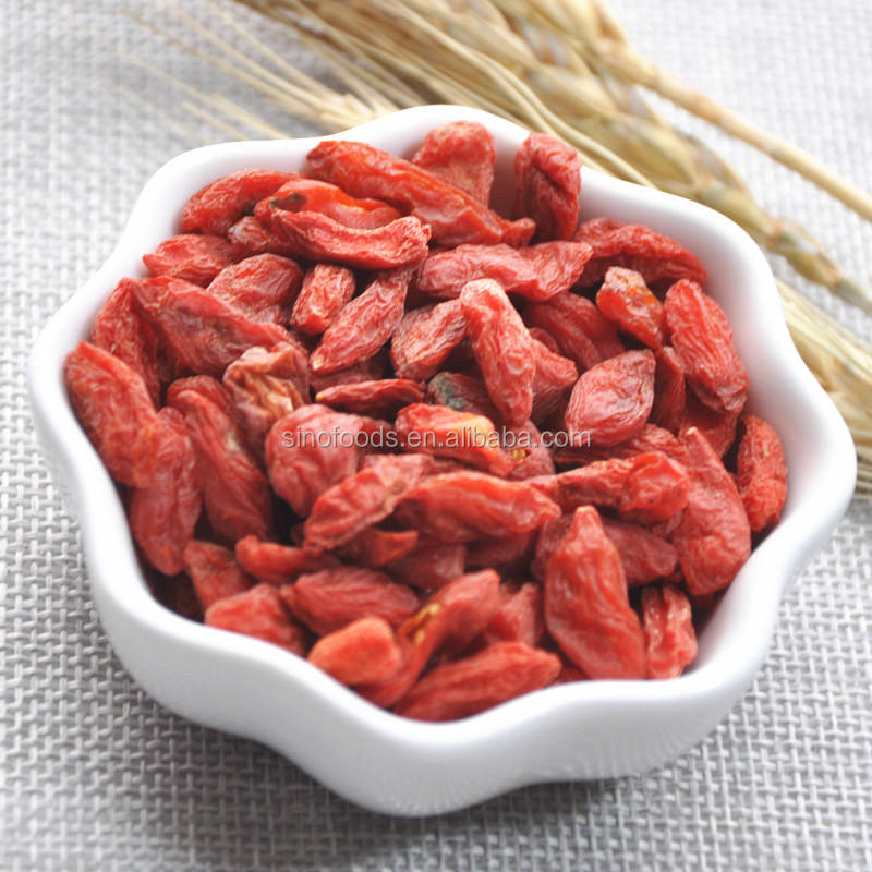Ningxia factory wholesale bulk dried organic goji berries