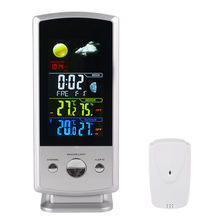 Digital Room In Out Protect Thermometer Hygrometer Outdoor Protect RF Tech Professional Wireless Weather