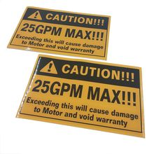 Self adhesive warning label,LOGO design warning sticker
