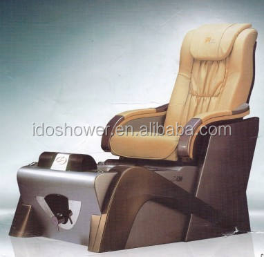Doshower modern pedicure foot spa massage chair with manicure and pedicure set
