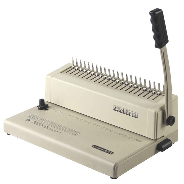 High Quality Easy For Bind Small Office Manual A4 Plastic Comb Binding Machine SG-C12