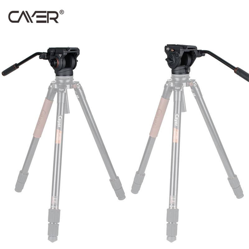 Good quality video tripod fluid head Cayer K5 Aluminum fluid head the Damping Continuous adjustment