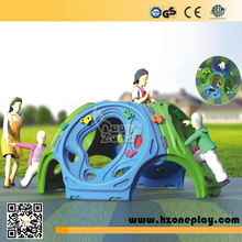 kindergarten playground kids Outdoor plastic climbing play set