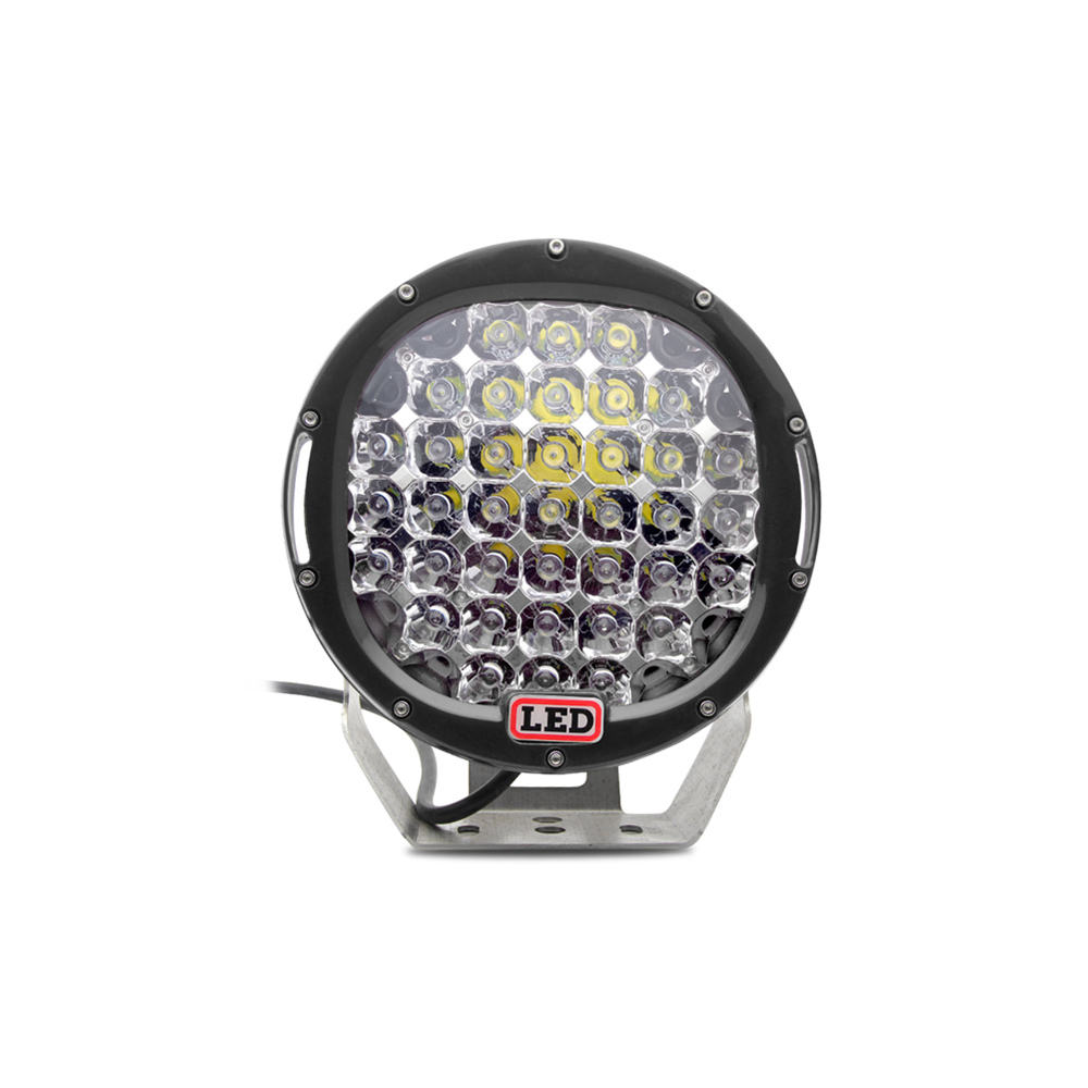 5000 lumen 9inch round 185W 96w Motif Car Spot driving light 12V with cover, LED Work Light for Rangler