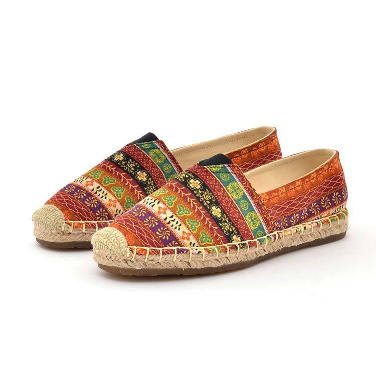 Wholesale china foldable easy wear women casual canvas shoes espadrilles