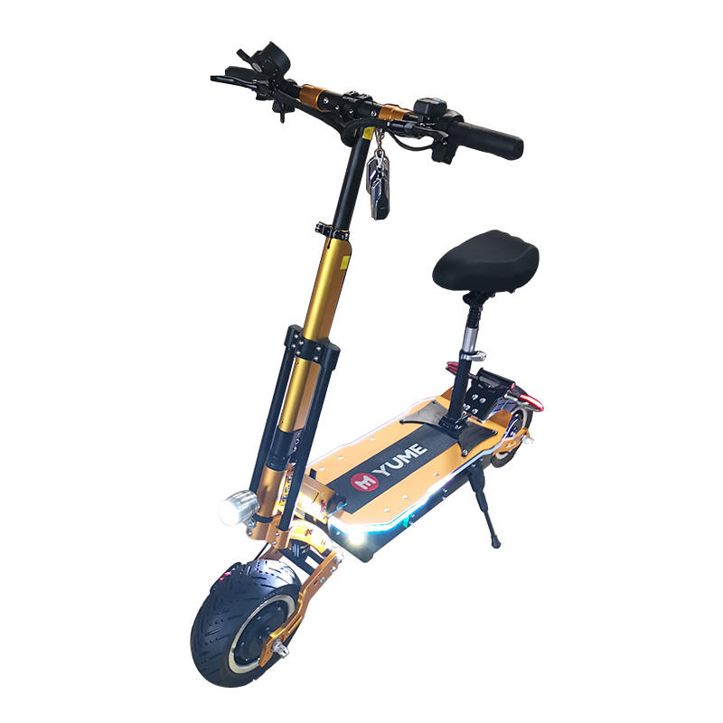 Yume chinese beste super krachtige <span class=keywords><strong>C</strong></span> vorm schokdemper mobiliteit e scooter met off road band/band elektrische scooter