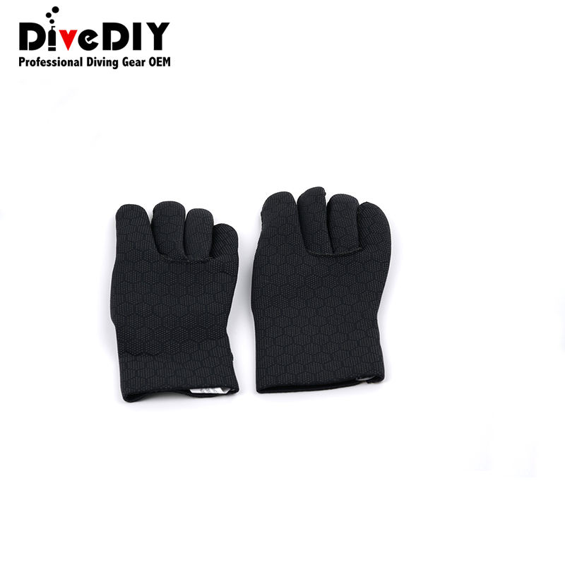 best quality custom design warm double lined hot sale diving gloves