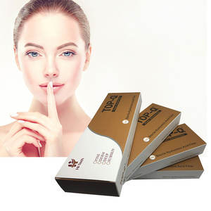 10ml High Quality Hyaluronic Acid Dermal Filler for Laugh Lines / Lip Augmentation