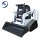Tracked rubber skid steer loader TS100 price