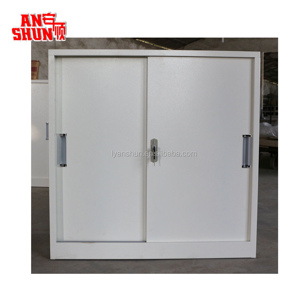 FAS-017 small lockable metal storage cupboard iron filing cabinet