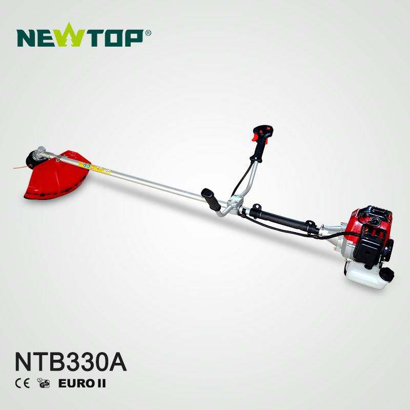 China petrol garden tool metal blade manual grass trimmer 330 brush cutter with CE certification