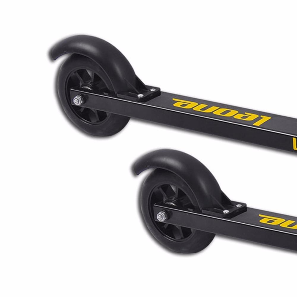 aluminium high-quality roller ski(two wheels)