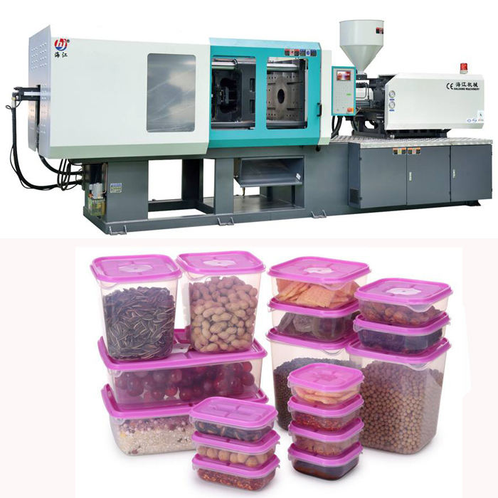 Plastic fruit Box making injection molding machine with Yuken Variable Pump