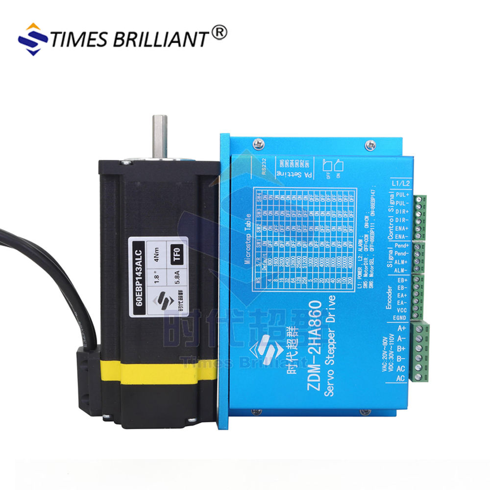 4NM 57/60 closed-loop servo stepping motor set servo motor + closed-loop drive spot special price