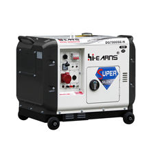 5KW Super silent air cooled portable diesel generator