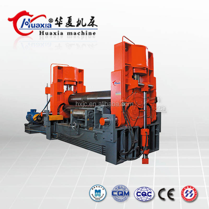 Automatic New Cnc 4 -Rollers Hydraulic Plate Rolling Machine