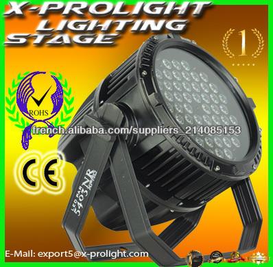 3w*54 conduit <span class=keywords><strong>par</strong></span> la lumière /Haute puissance light LED <span class=keywords><strong>PAR</strong></span> Led 4 en 1 avec imperméable à l'eau