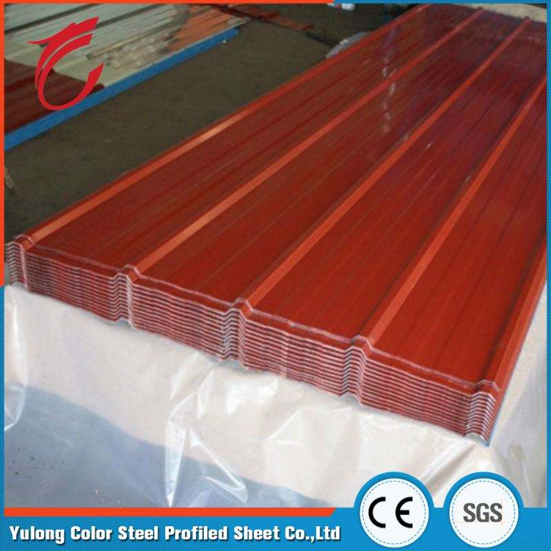 Super quality sound insulation corrugated PPGI steel roof sheet for tile
