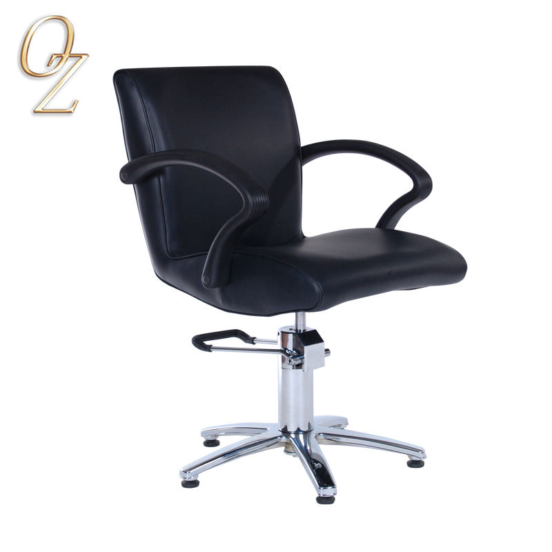 Hot Sale Salon Furniture Manufacturer European Standard Genuine Leather Hairdressing Chair Beauty Equipment
