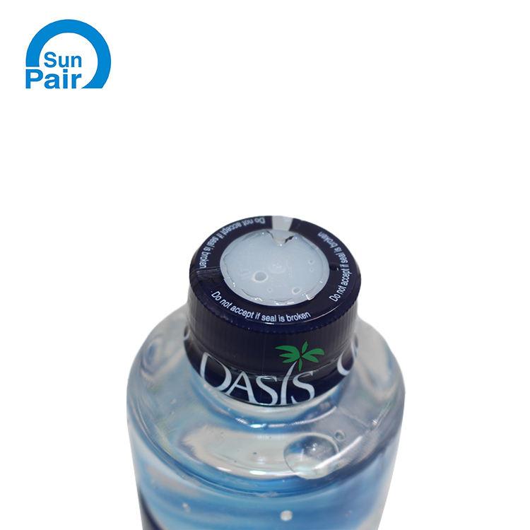 De plástico al por mayor de cuello de botella psiquiatra manga tapa etiquetas