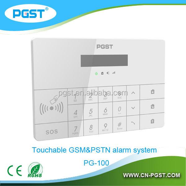 Хост приемник панель управления для gsm детектор дыма сигнализации 433 мГц CE и RoHS