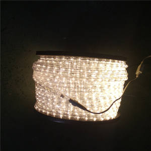 warm white 100m decoration led rope light