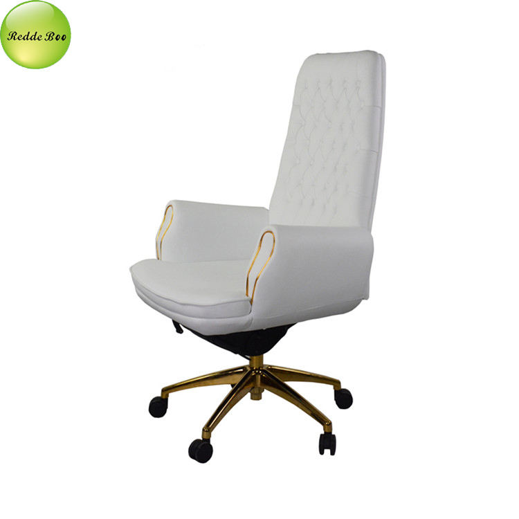 Modern ergonomic leather swivel and executive office chair 9005