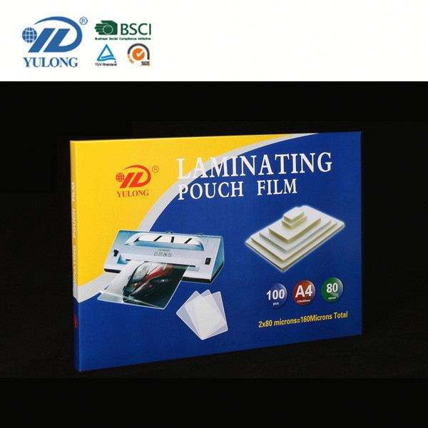 A4 PET EVA Laminating Pouch