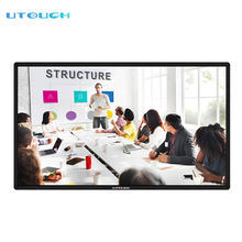 75 inch school electronic teaching big screen 4k smart board interactive for education