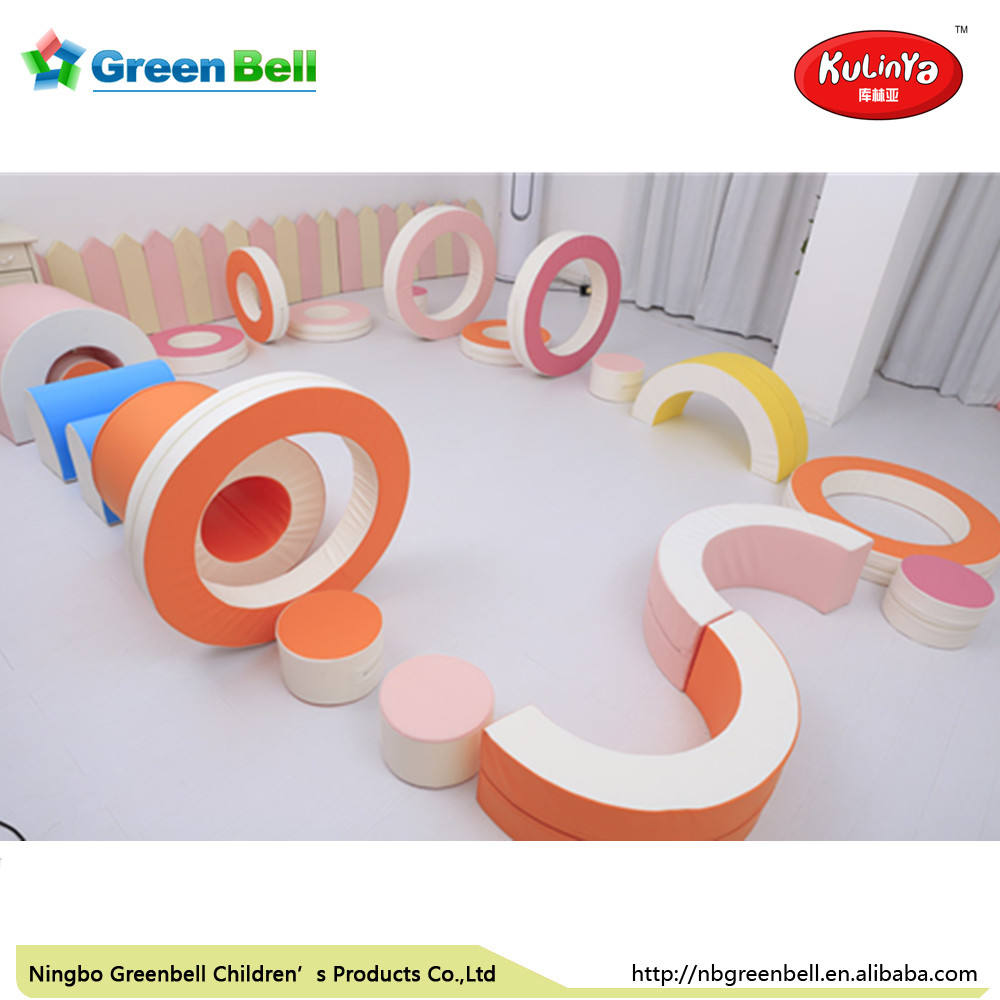 Children colorful kids indoor play equipment soft play for amusement park