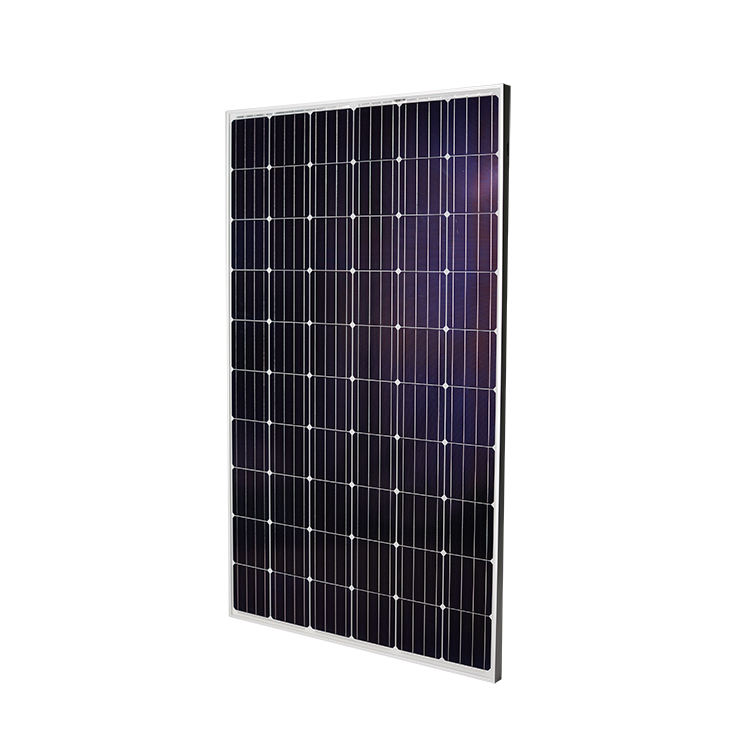 Grade A cell high efficiency mono solar panel IEC 61215 CE certificated 300W