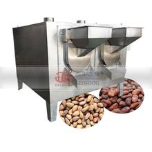 Commercial Chestnut Baking Machine Cashew Peanut Roaster Almond Cocoa Beans Nut Roasting Machine