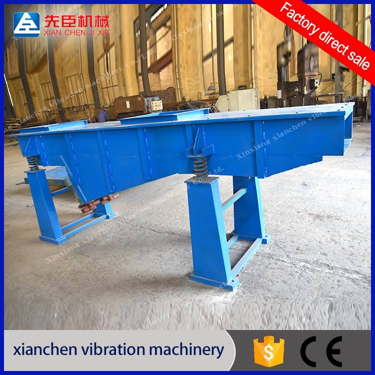 Linear Vibrating Screen Manufacturers Abrasive Limestone Carbon Steel Linear Vibrating Screen From China Factory