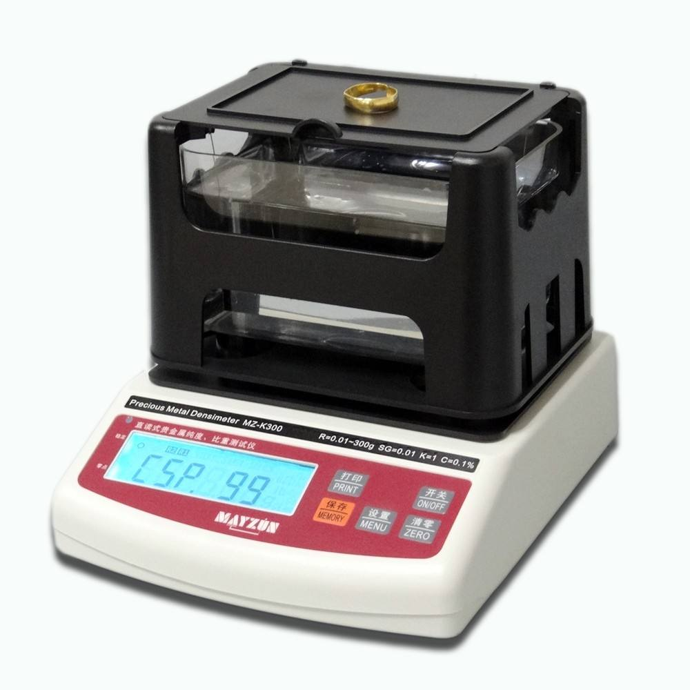 Electronic Digital Precious Metal Gold Purity Karat Content Analyzer Tester