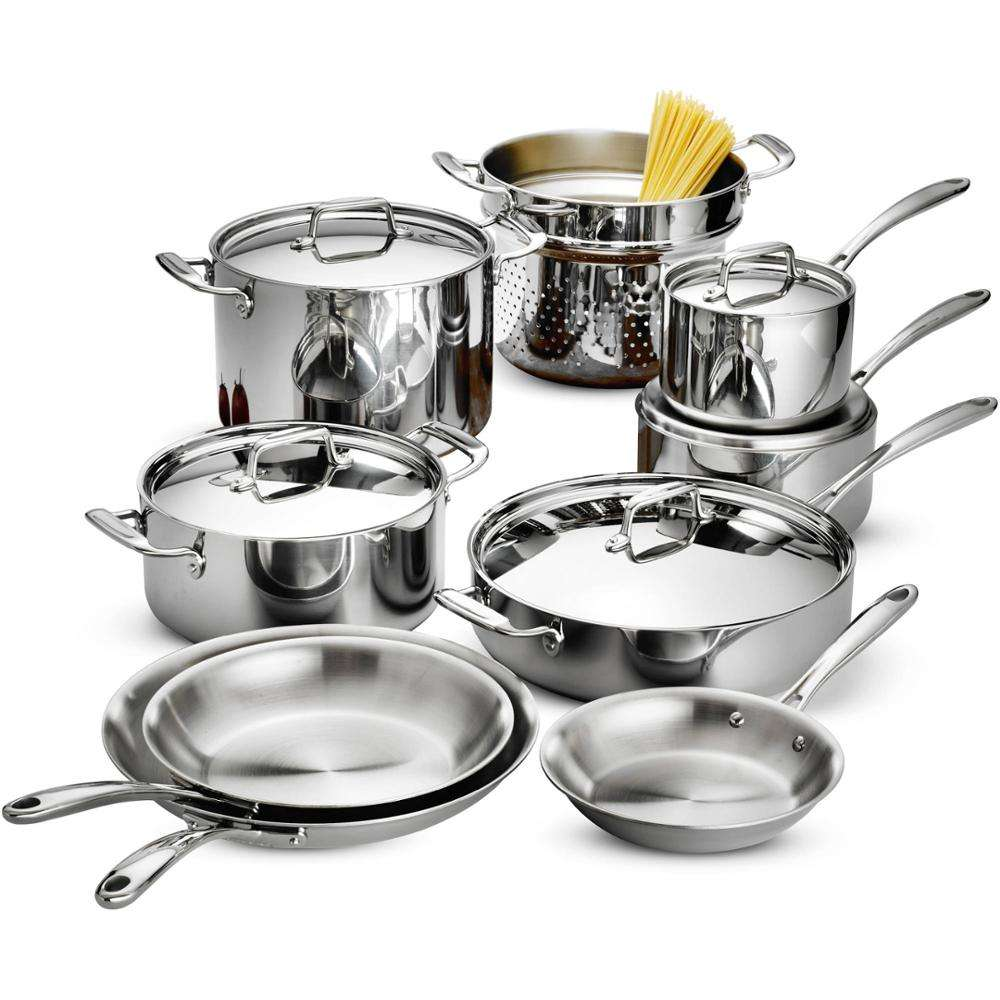 Factory Price 10pcs Happy Baron 304 Stainless Steel Kitchen Cookware