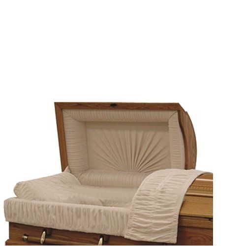 TD--A03 Funeral equipment wooden casket with interior