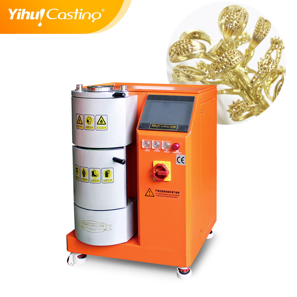 Mini Fully automatic jewelry machines vacuum die casting and stirring casting machines