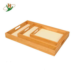 Various Size Custom Wood Serving Tray Cheap Bamboo Trays For Sale