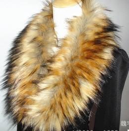 venta al por mayor nuevo 2014 prodcuts de imitación piel sintética collar para capa de más tamaño de china